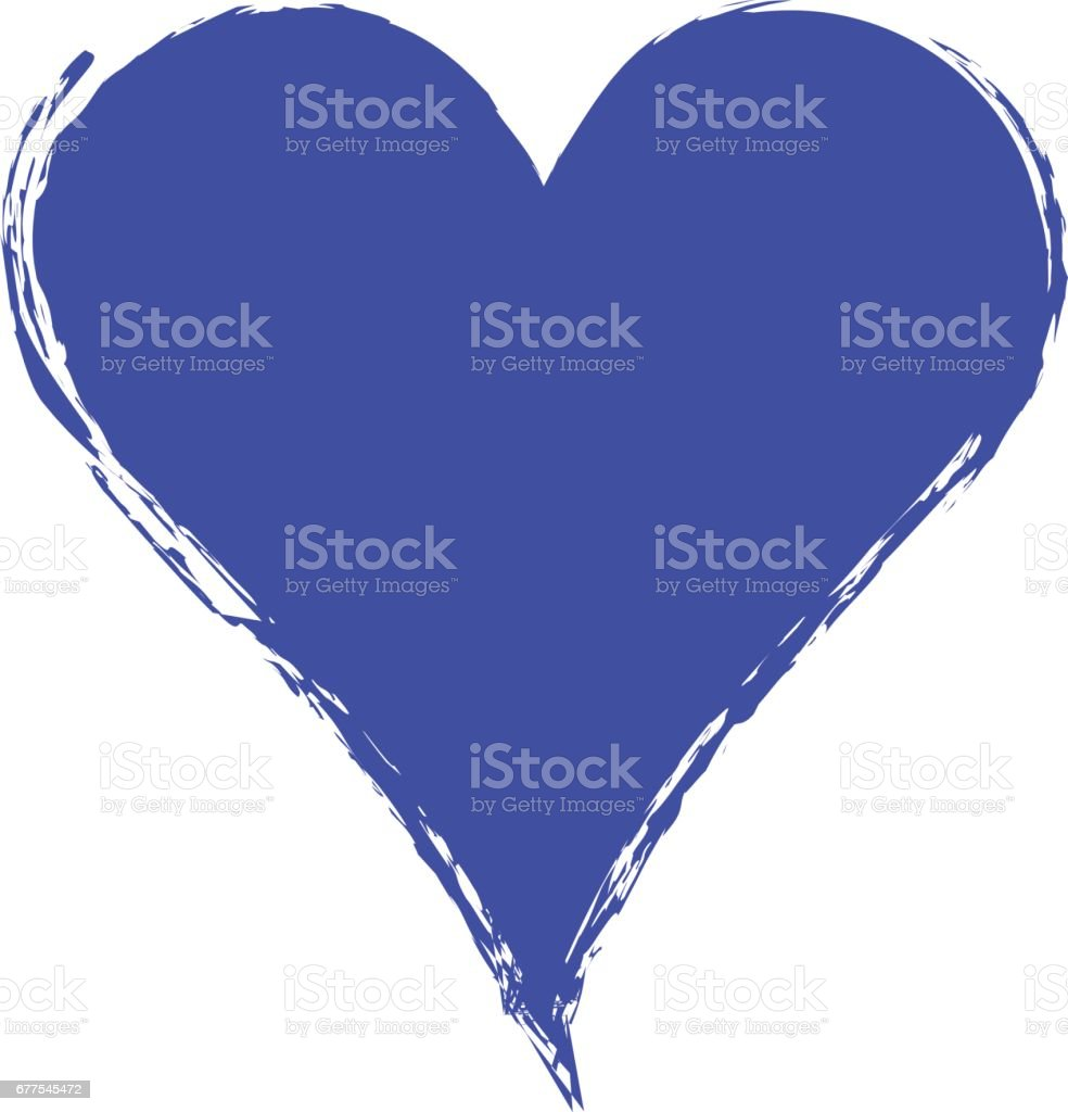 Vector blue graphic grunge illustration of heart sign with ink blot, brush strokes, drops isolated on the white background. Series of artistic illustration with splash, blots and brush strokes. royalty-free vector blue graphic grunge illustration of heart sign with ink blot brush strokes drops isolated on the white background series of artistic illustration with splash blots and brush strokes stock vector art & more images of art