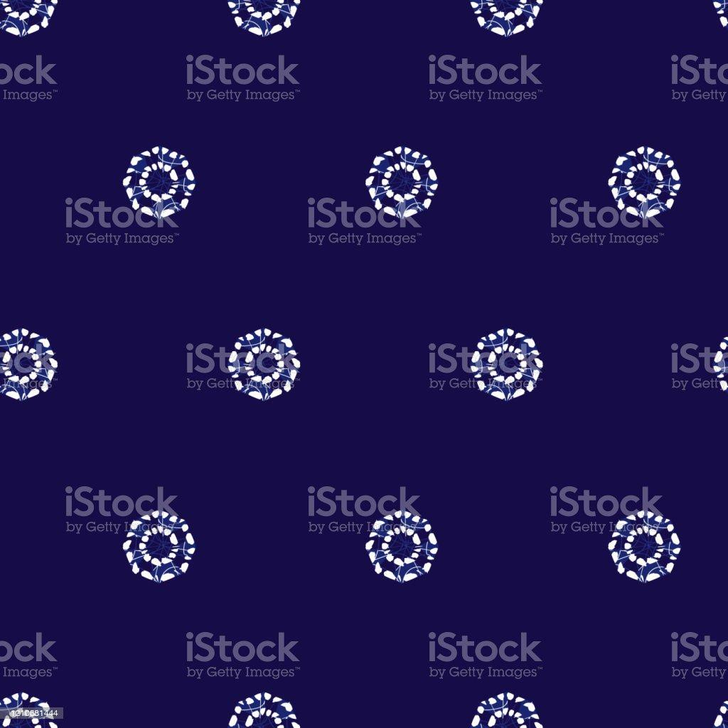 ベクターブルーしぼりシンプルな丸い水玉シームレスパターンテキスタイルギフトラップ壁紙に適しています アーカイブ画像のベクターアート素材や画像を多数ご用意 Istock