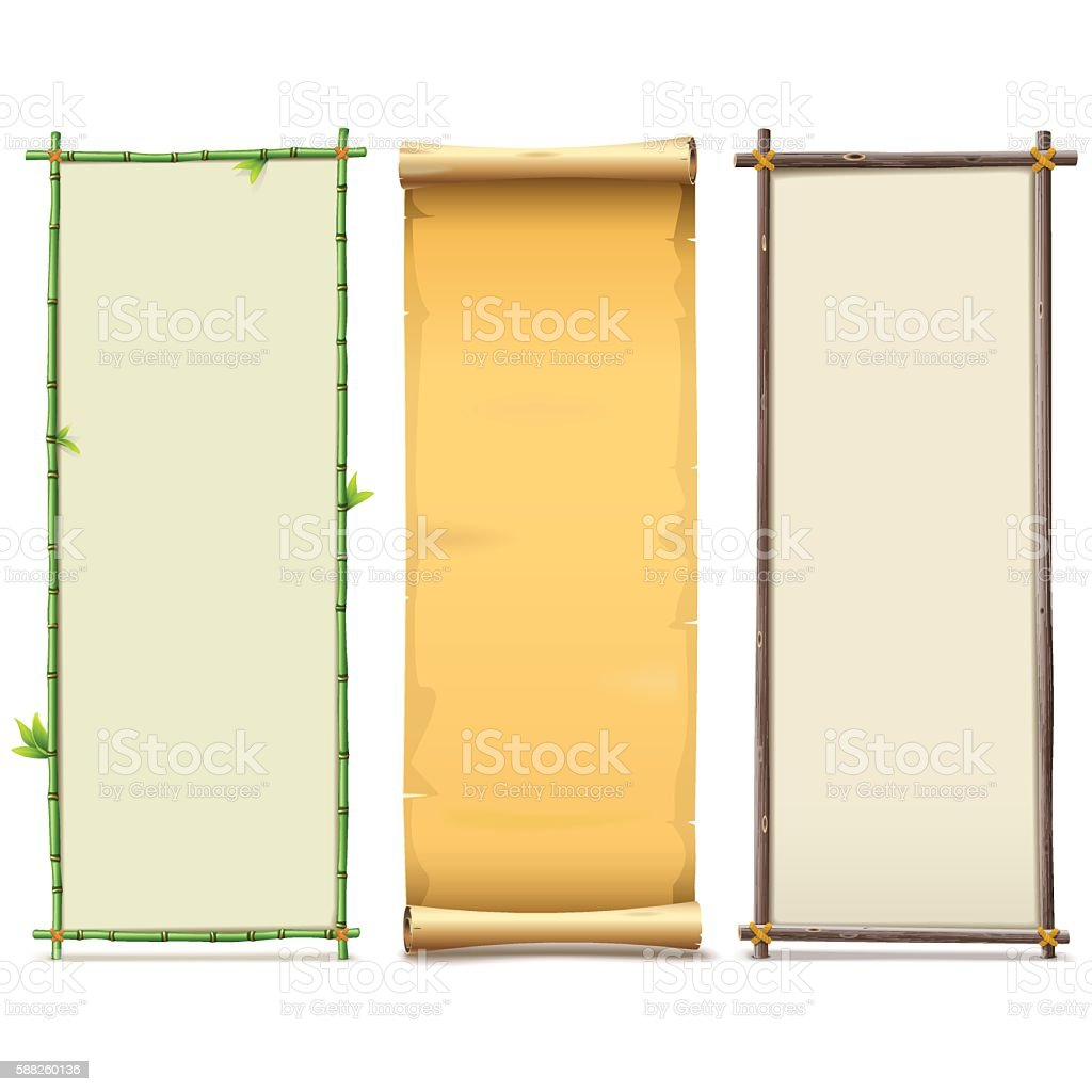 Vector Boards Set 8 Vektor Illustration 588260136 | iStock