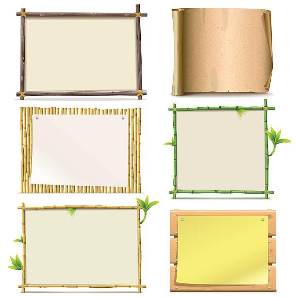 Vector Boards vector art illustration
