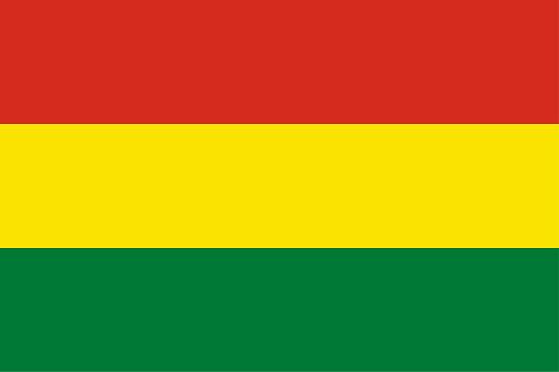 Vector Bolivian Flag Design