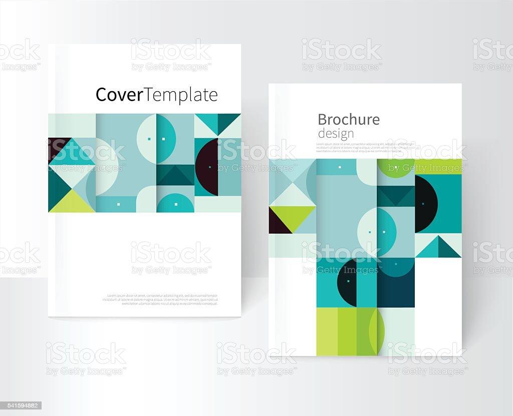 Creative Book Cover Design Eps ~ Vector book cover design creative concept catalog report