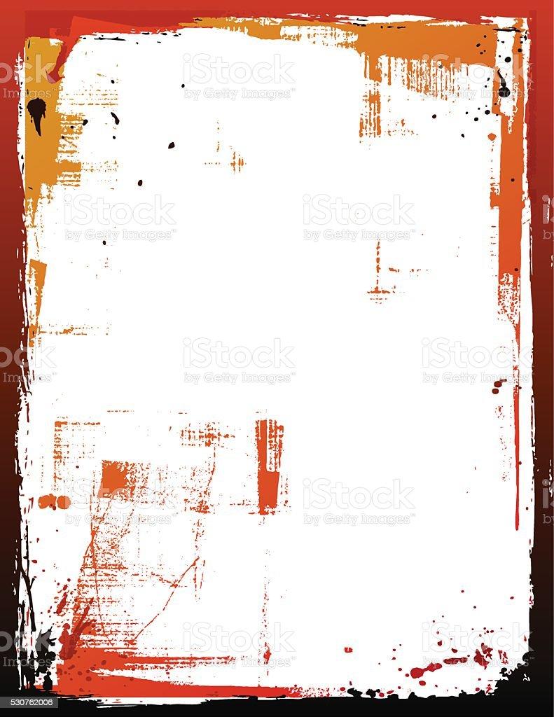 Vektor-Grenze & Texturen – Vektorgrafik