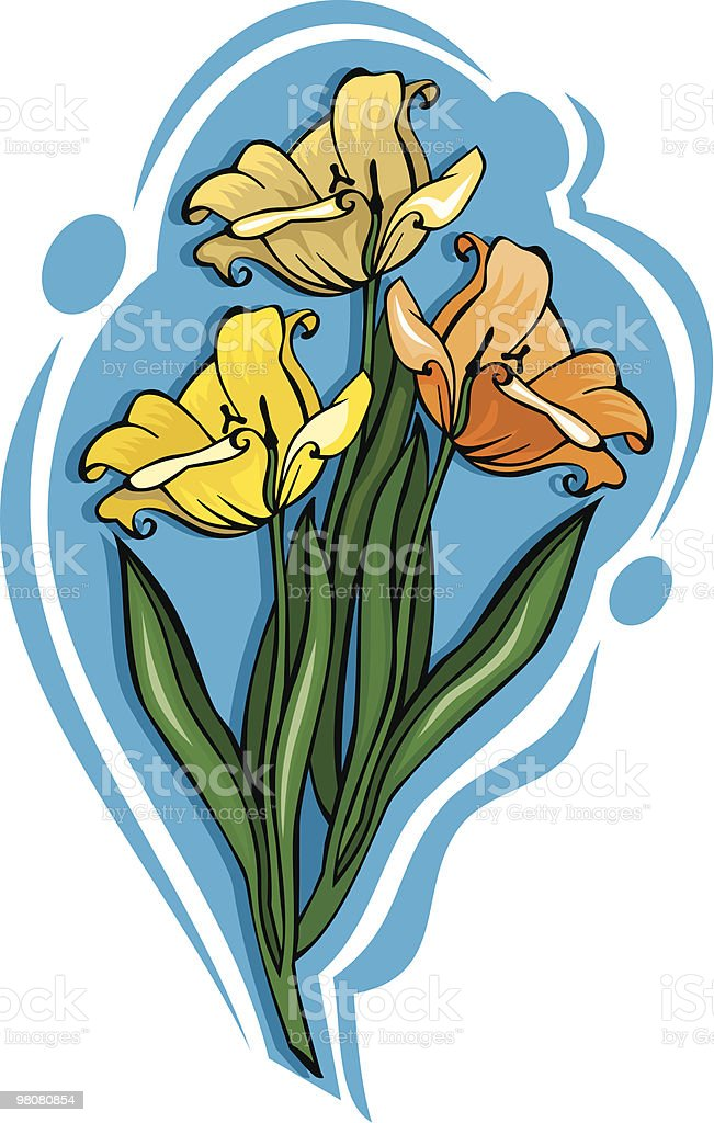 Vector bouquet of flowers royalty-free vector bouquet of flowers stock vector art & more images of beauty