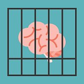 Vector brain in cage
