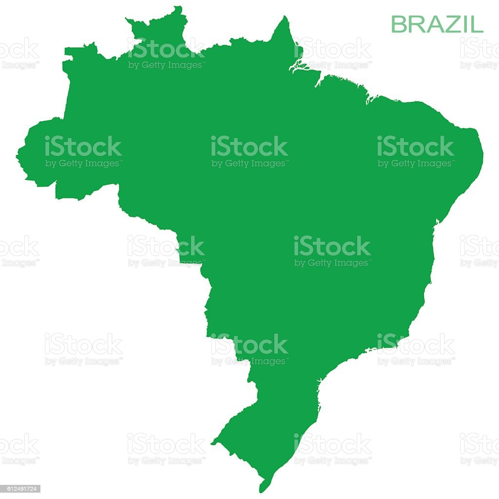 Vector Brazil Pictogram