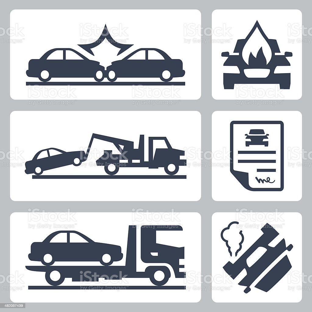 vecteur de panne camion et de voiture accident ic nes set cliparts vectoriels et plus d 39 images. Black Bedroom Furniture Sets. Home Design Ideas