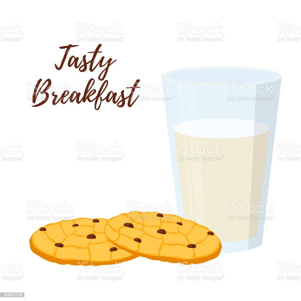 desayunar un vaso de leche con avena
