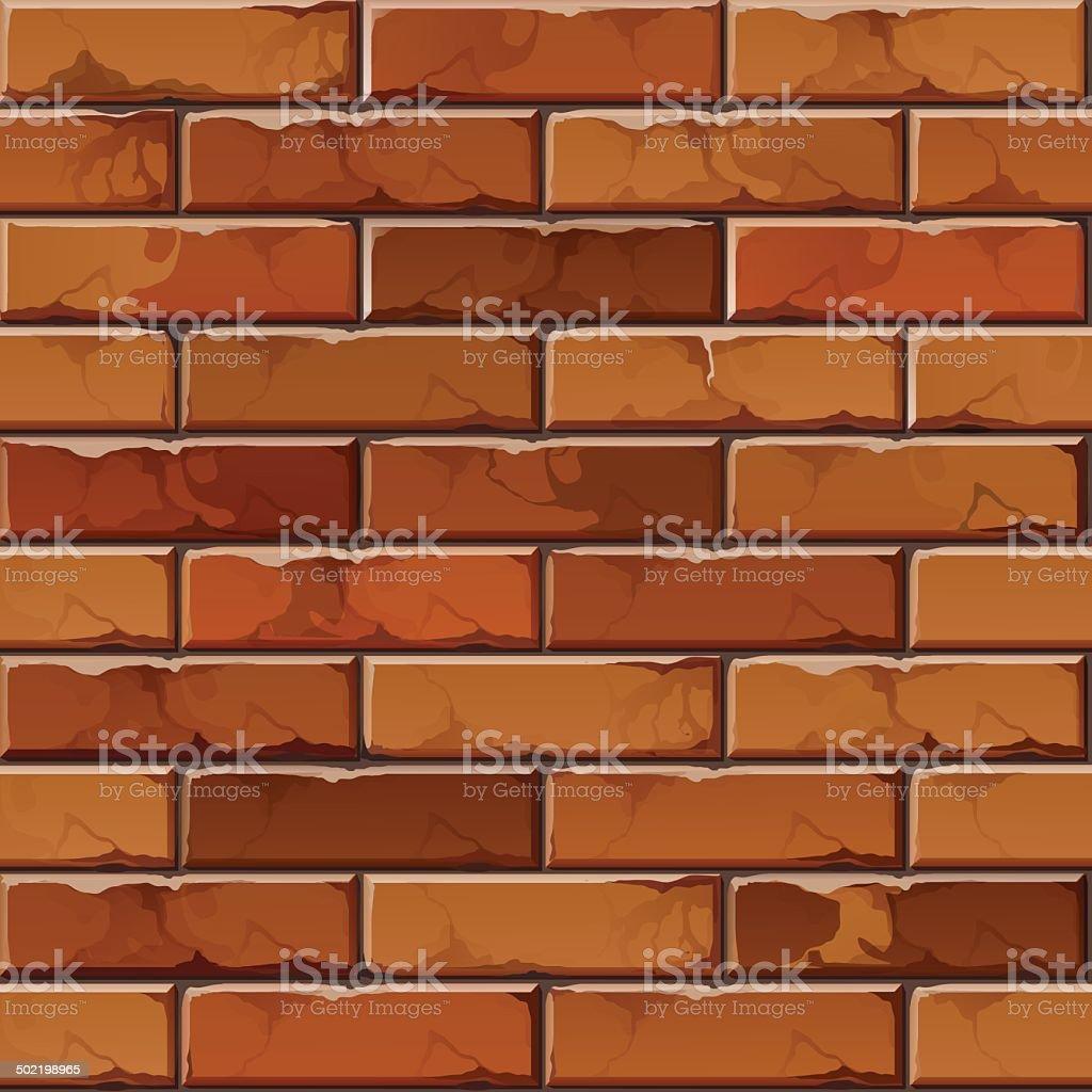 ベクトルパターンの背景テクスチャレンガの壁 イラストレーションの