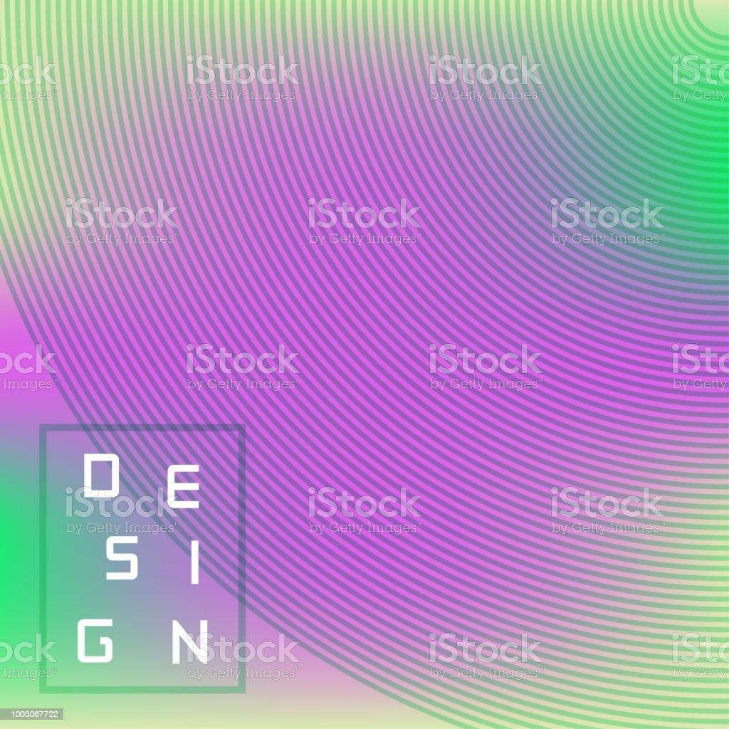 ベクトル明るい幾何学的背景バナーポスター広告壁紙カバーの放射状の線
