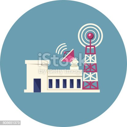 Vector Broadcast Tower