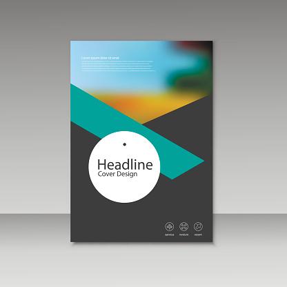 909923870 istock photo Vector Brochure Design Layout template 854588636