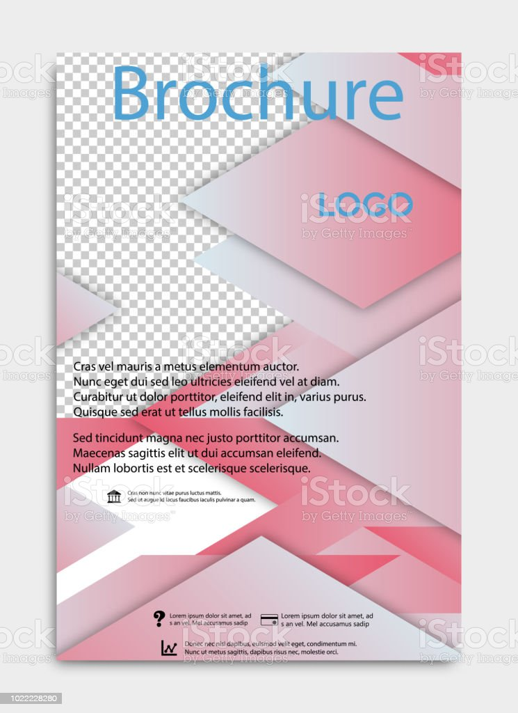 vector brochure flyer design layout template size a4 front page and