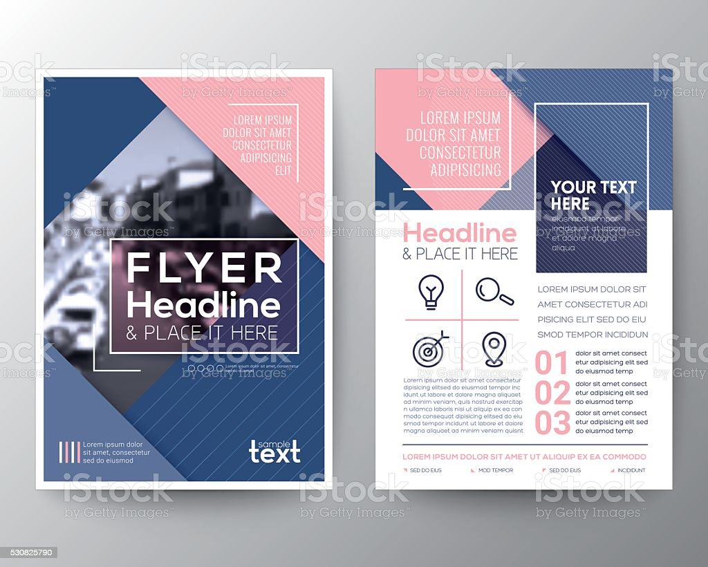 Vector brochure flyer design layout template stock vector for Art brochure template
