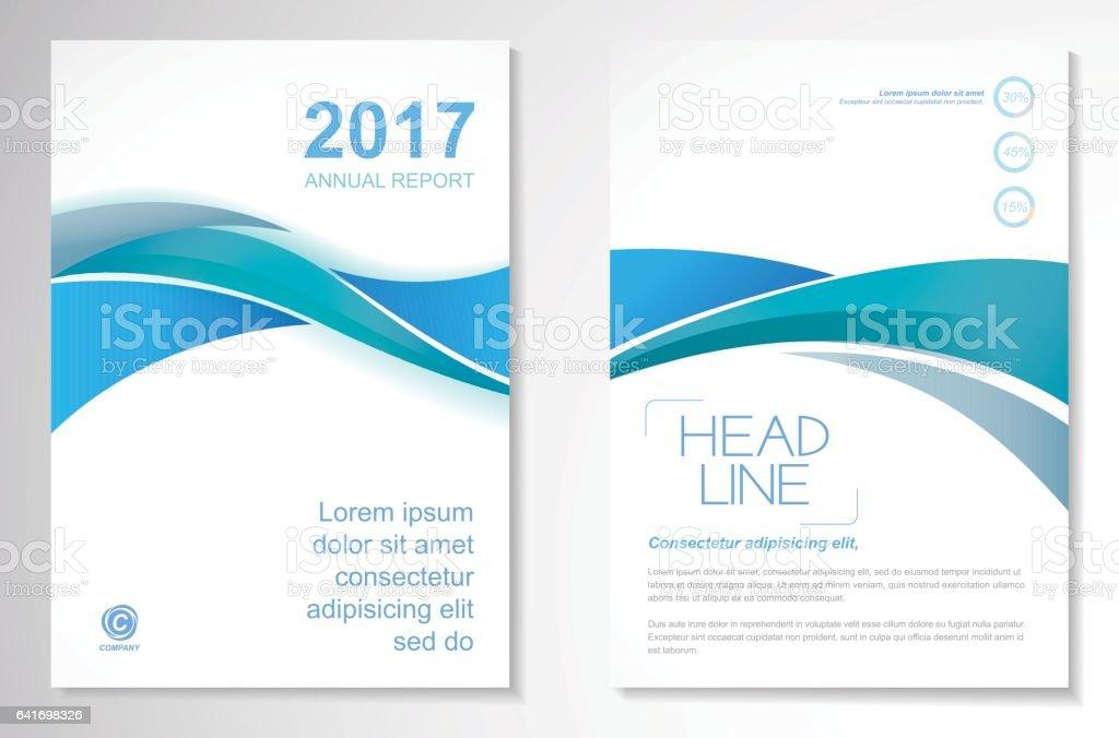 Vector Brochure Flyer design Layout template vector art illustration