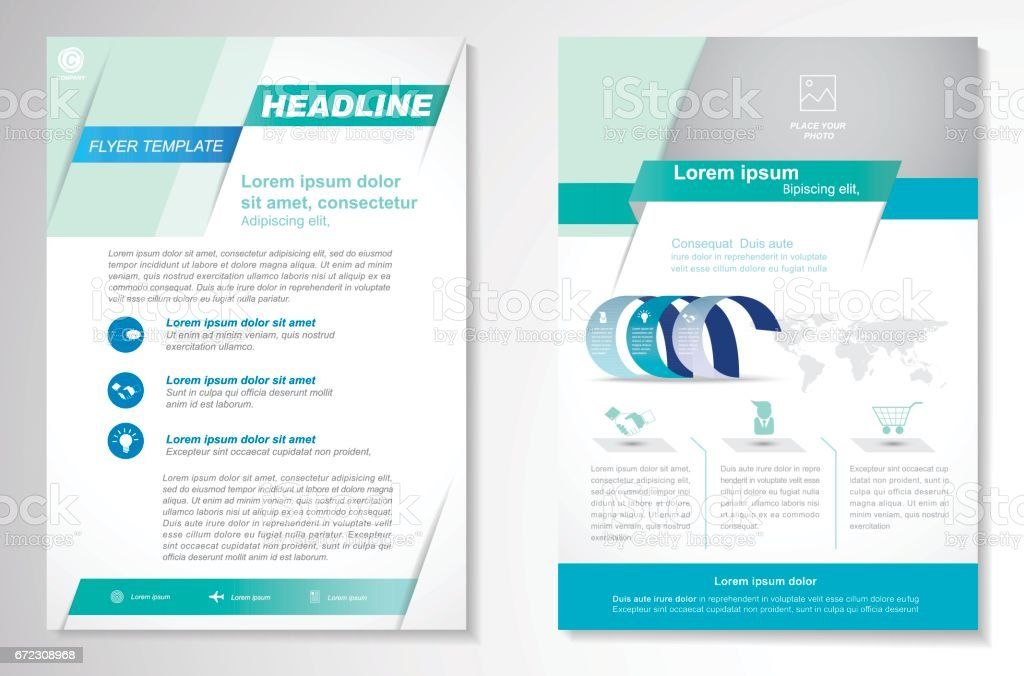 vector brochure flyer design layout template 2017年のベクター