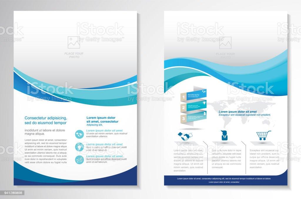 Vektor-Broschüre-Flyer-Design Layout-Vorlage - Lizenzfrei 2017 Vektorgrafik
