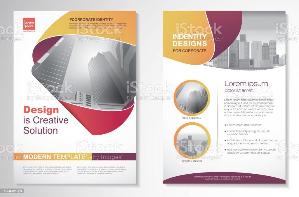 vector brochure flyer design layout template free download