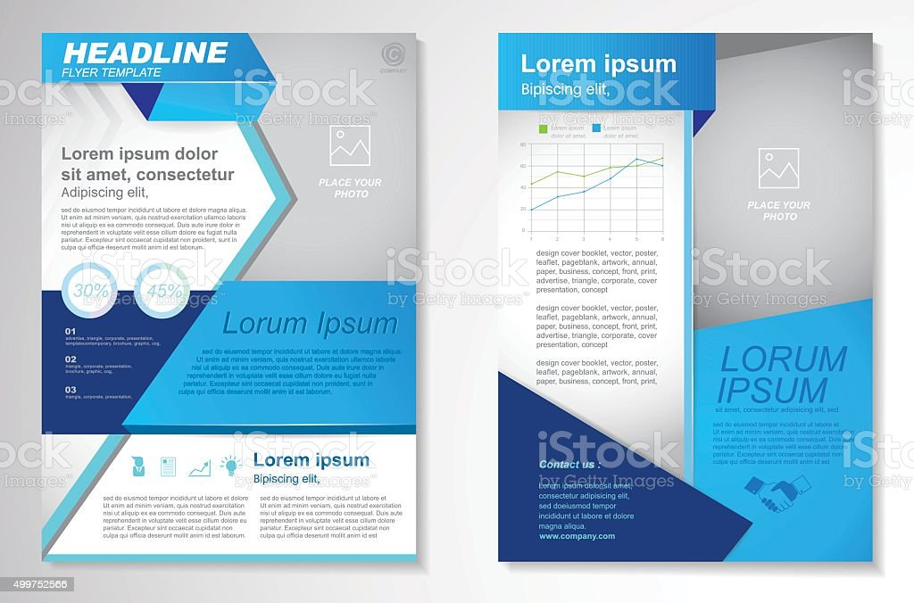 Vector brochure flyer design layout templateinfographic for Information brochure template