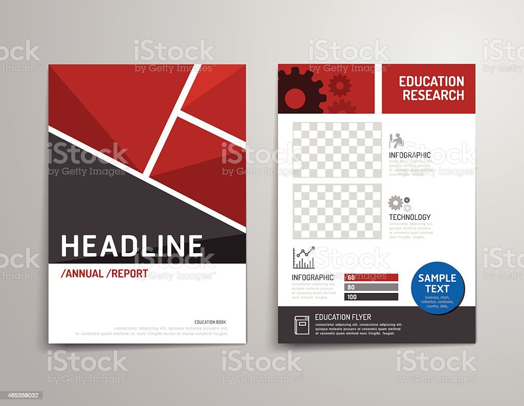 Vector Brochure Flyer Magazine Cover Booklet Poster Design Template ...