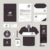 Vector brochure, flyer, magazine, folder, t-shirt,cover booklet poster mockup.