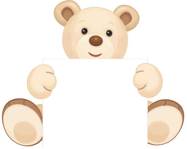 ilustrações de stock, clip art, desenhos animados e ícones de vector urso pardo. - teddy bear