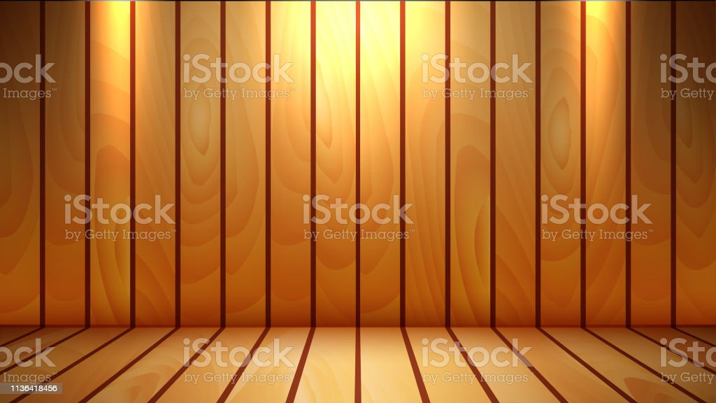 vector wooden textured background and display platform will you to...