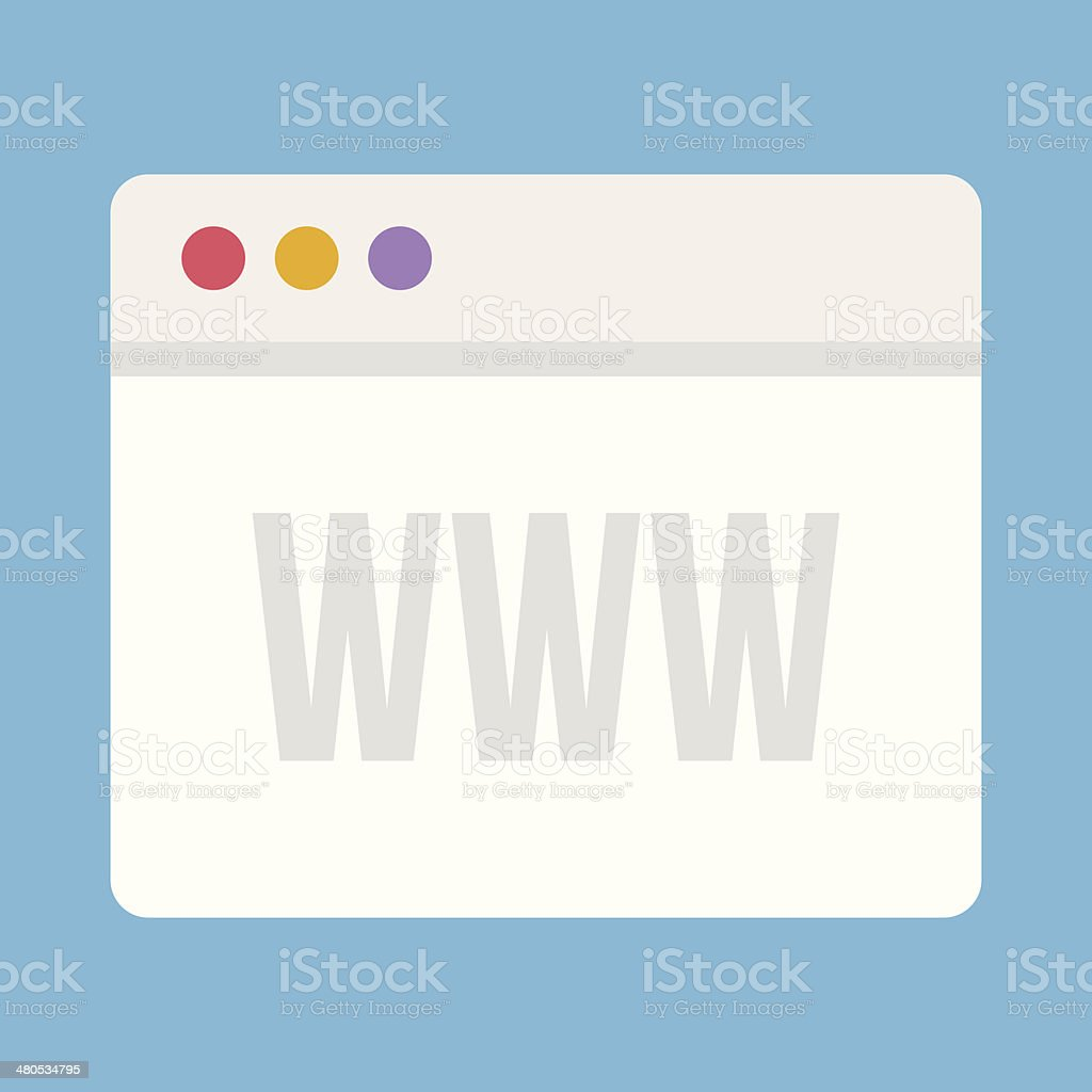 Vector Browser Icon