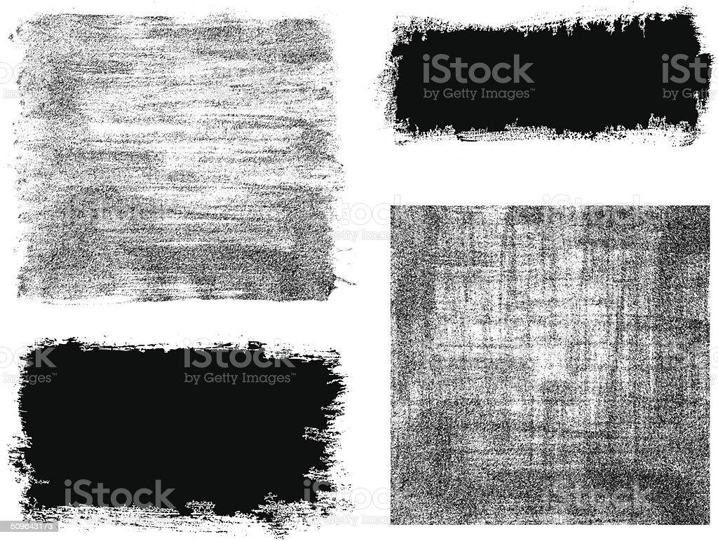 Fond de vecteur de coup de pinceau - Illustration vectorielle