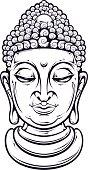 Vector Buddha