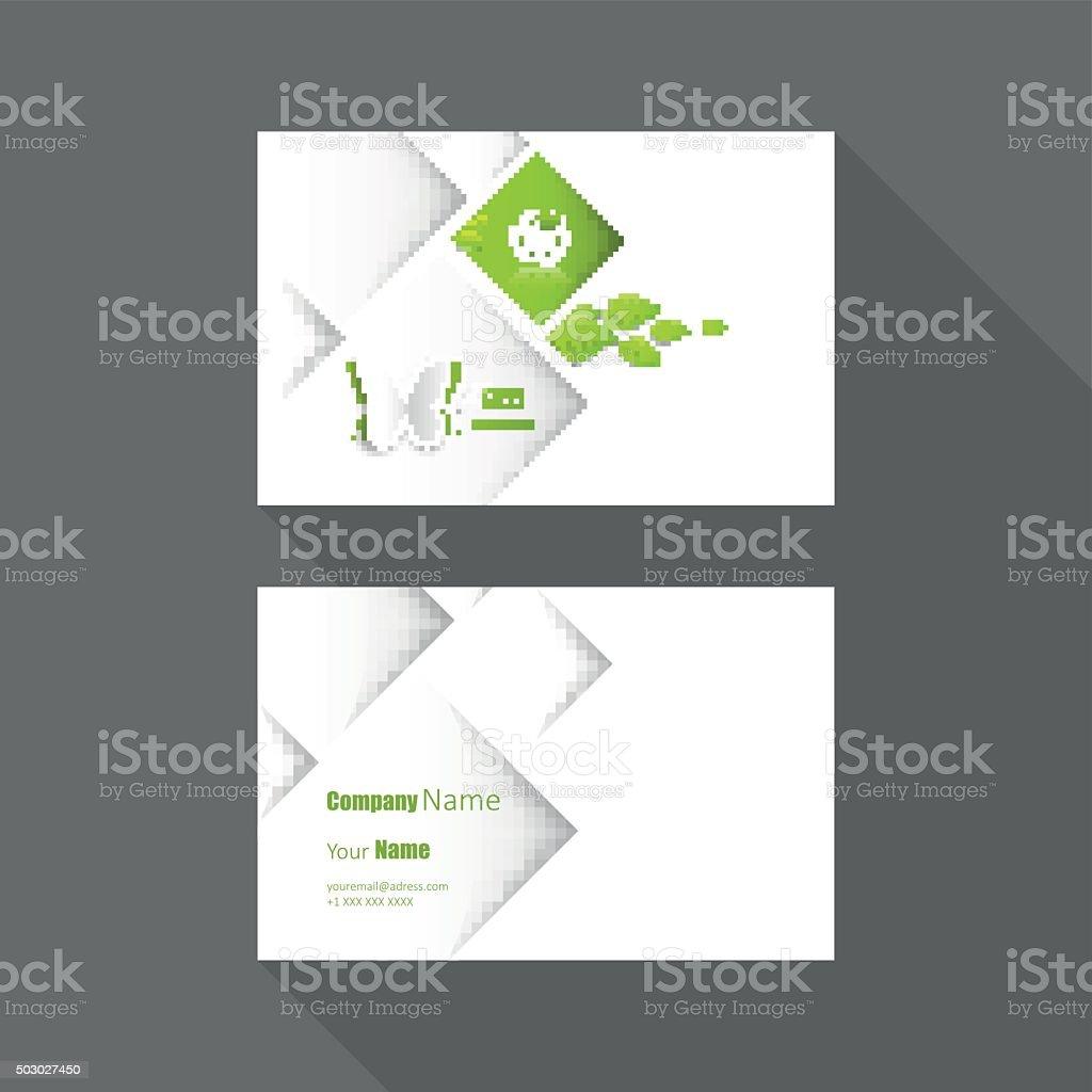 Vector Carte De Visite Design Cliparts Vectoriels Et Plus D