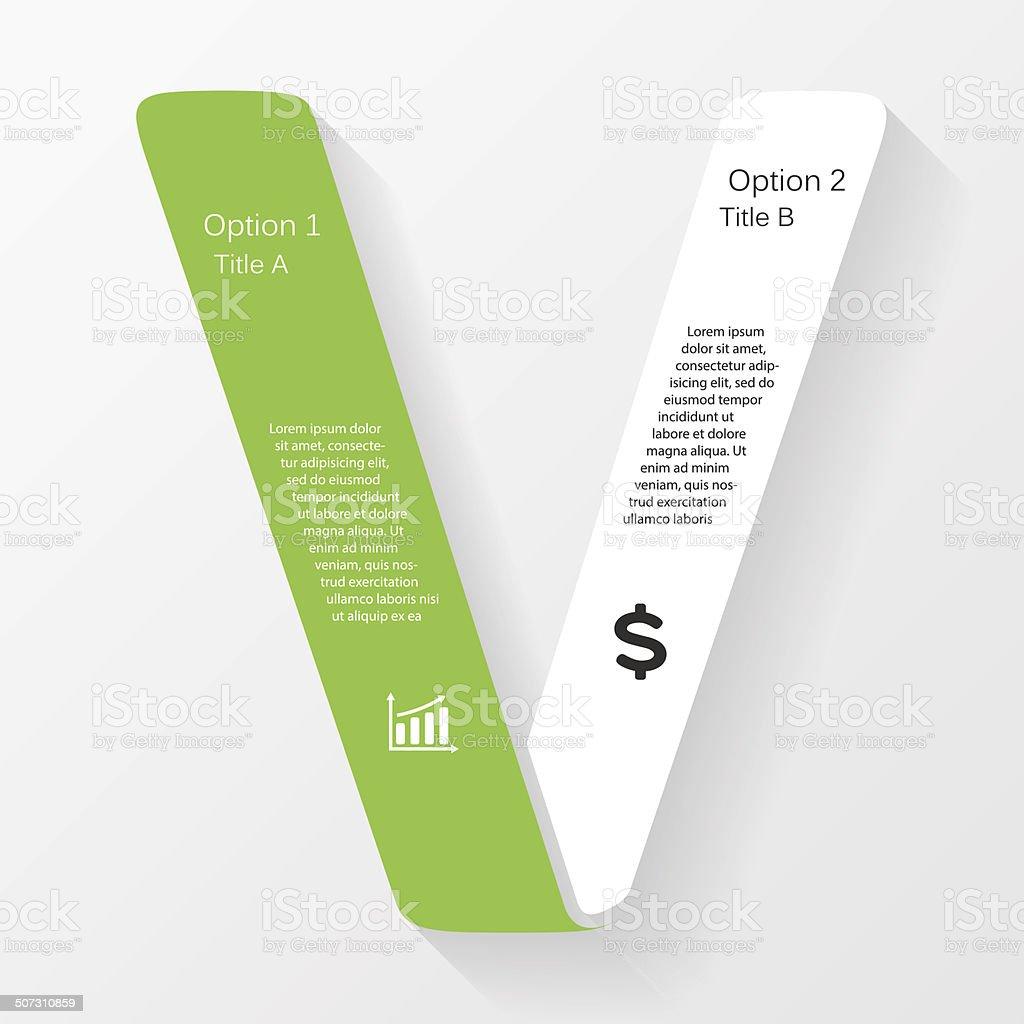 Vector business infographic, diagram, presentation vector art illustration