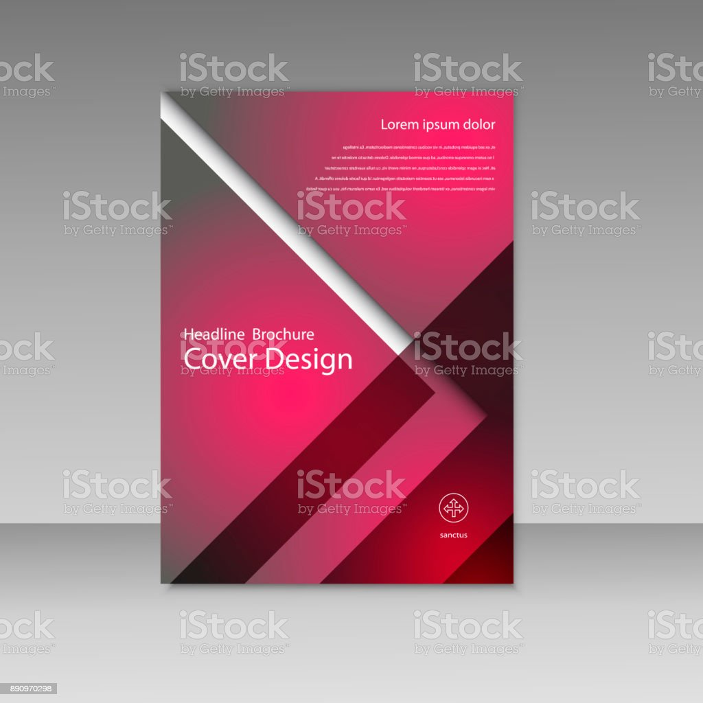 vector business report square and geometric cover design business brochure template layout cover design