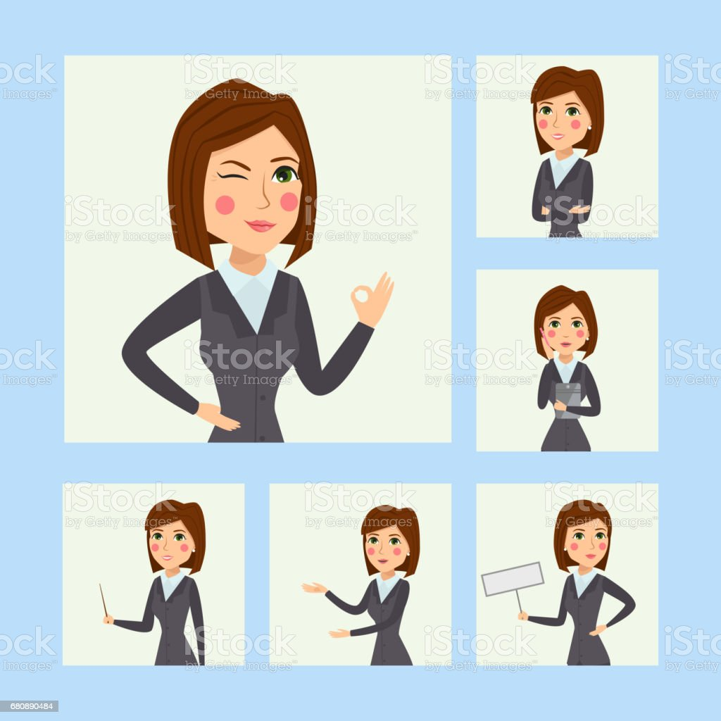 Vector business woman character silhouette standing adult office career posing young girl royalty-free vector business woman character silhouette standing adult office career posing young girl stock vector art & more images of adult