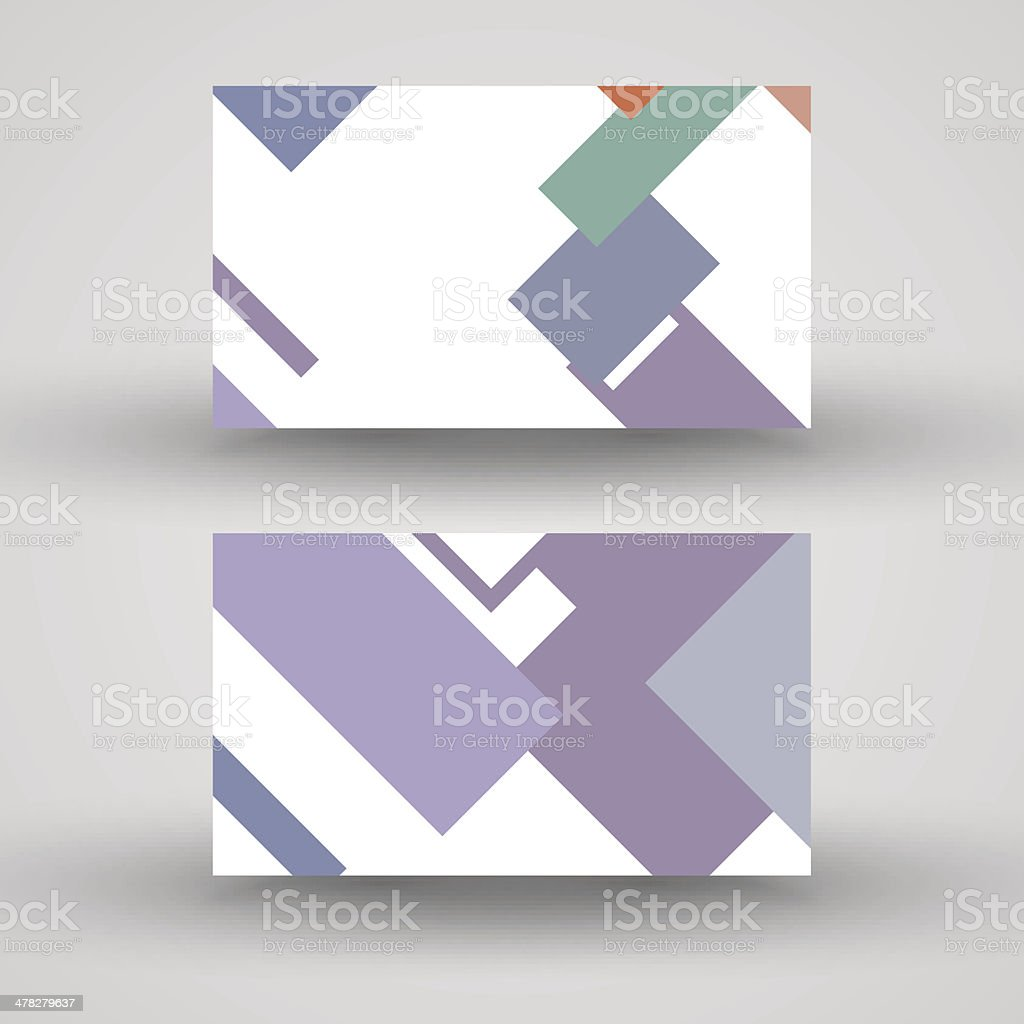 Vector business-card  set for your design royalty-free vector businesscard set for your design stock vector art & more images of abstract