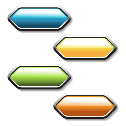 Vector Buttons Arrows Labels On The White Background Usable For A Link Read More Next Join Now Subscribe Registration Buy Now Or Menu Options Color Stickers Stock Vector Art & More Images of Aiming