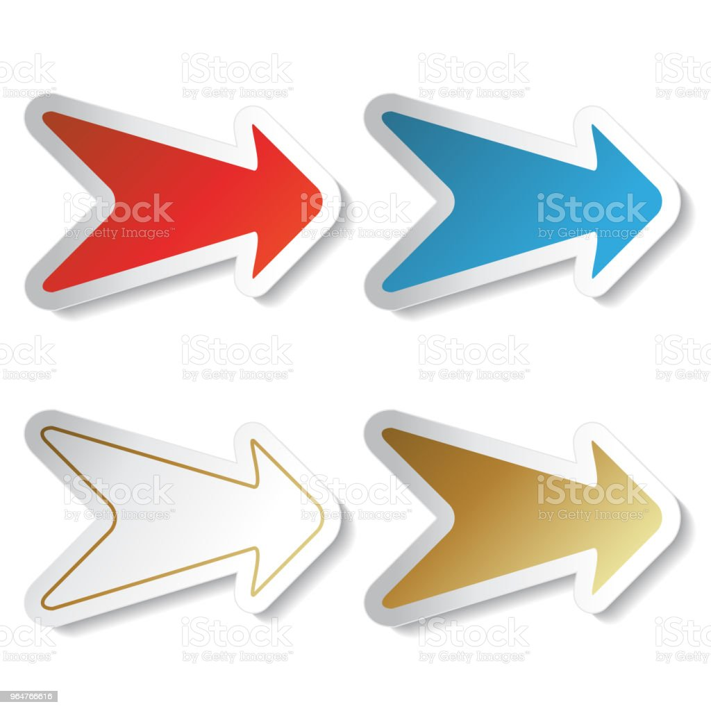Vector buttons, arrows - labels on the white background. Usable for a link, Read more, Next, Join now, Subscribe, Registration, Buy now or menu options, color stickers royalty-free vector buttons arrows labels on the white background usable for a link read more next join now subscribe registration buy now or menu options color stickers stock illustration - download image now