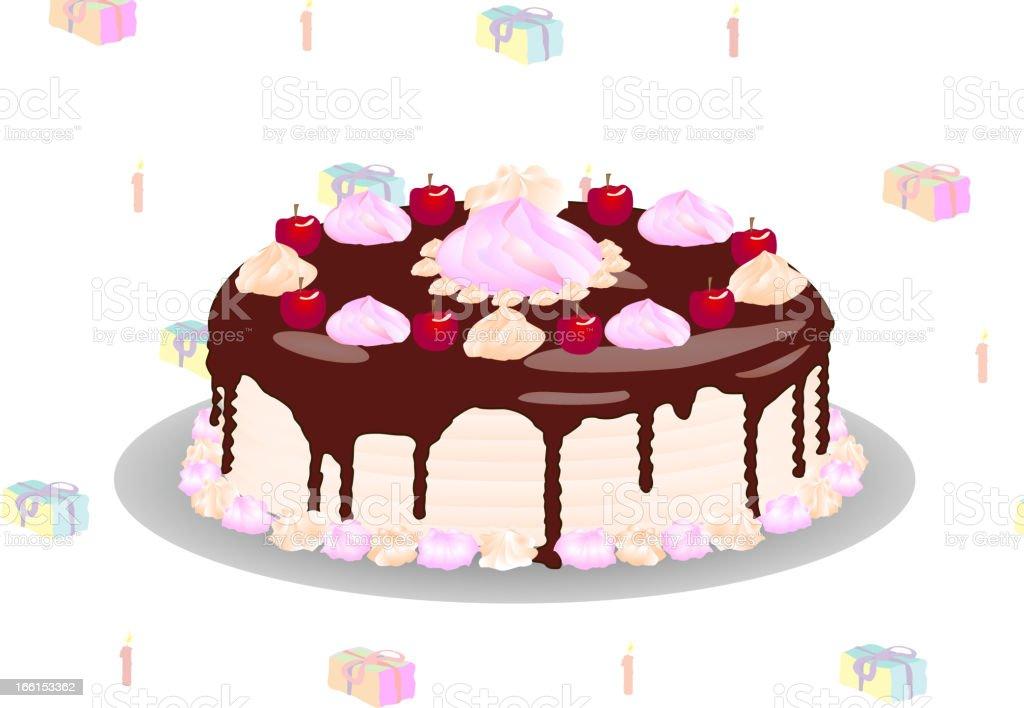 vector cake royalty-free stock vector art