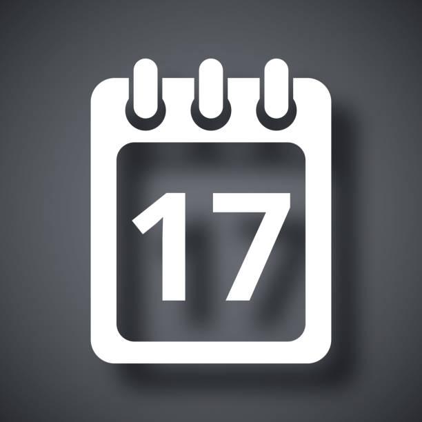 Vektor Kalendersymbol. – Vektorgrafik
