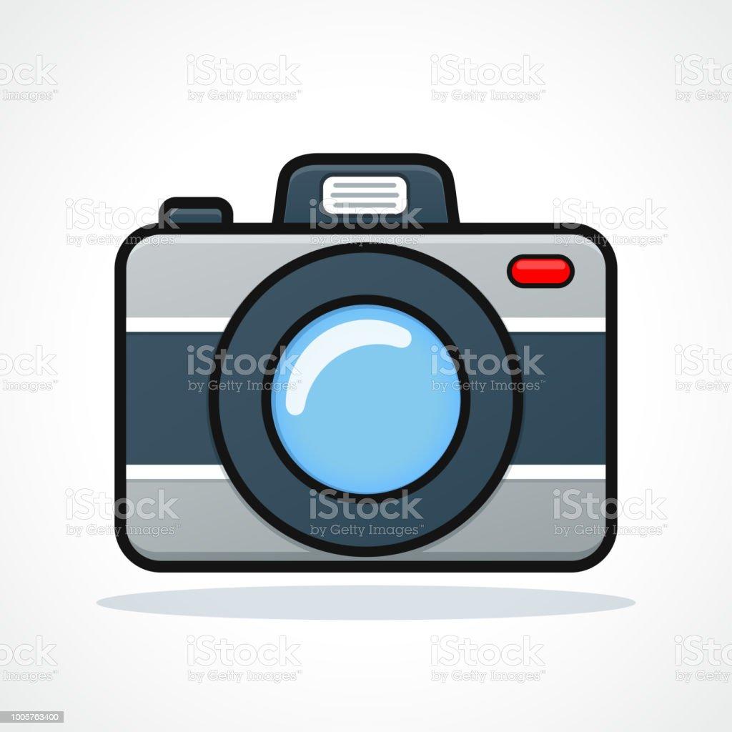 ベクトル カメラ アイコン デザインのクリップアート - アイコンの
