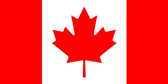 Vector Canadian Flag Design