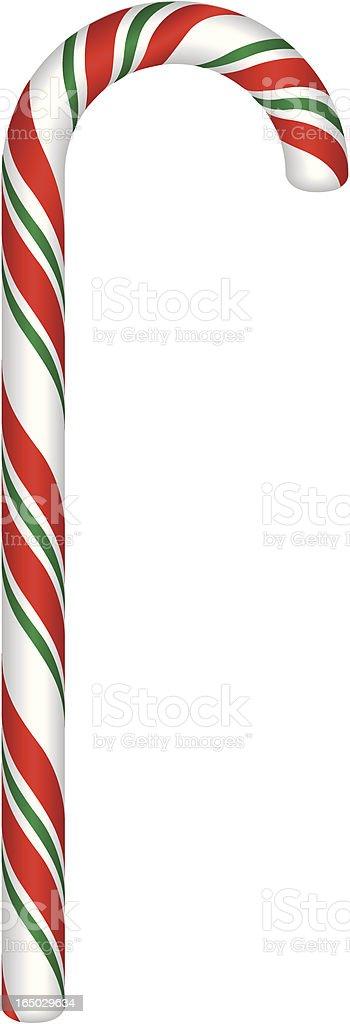 Vector Candycane vector art illustration