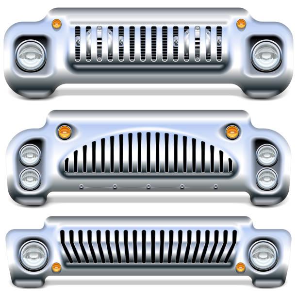 Vector Car Front End – Vektorgrafik