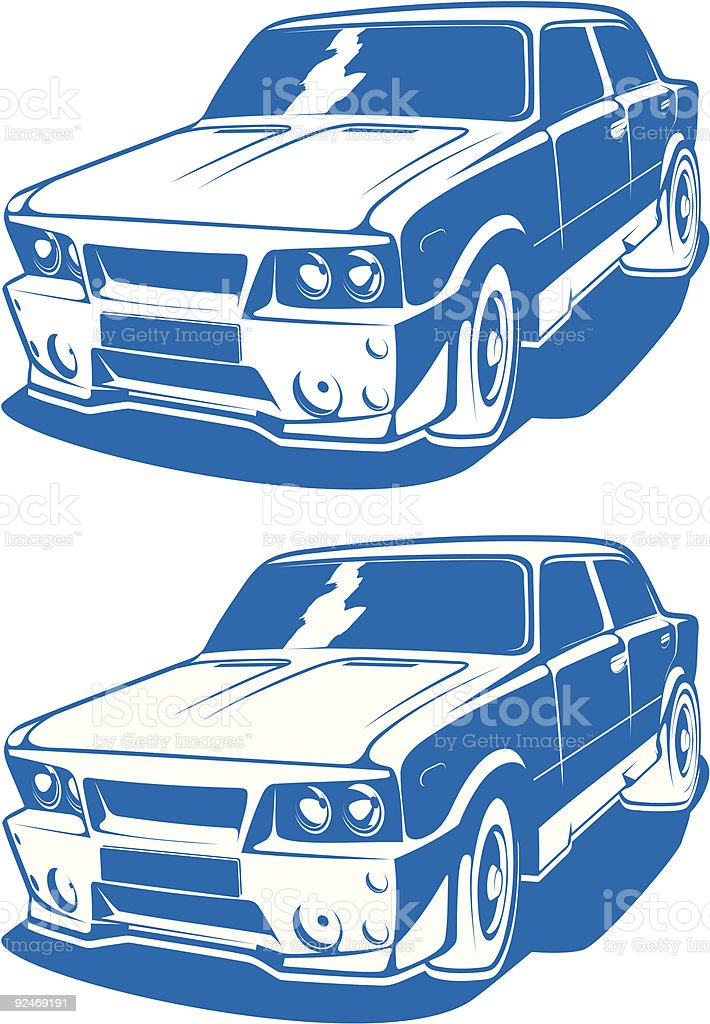 vector car royalty-free stock vector art