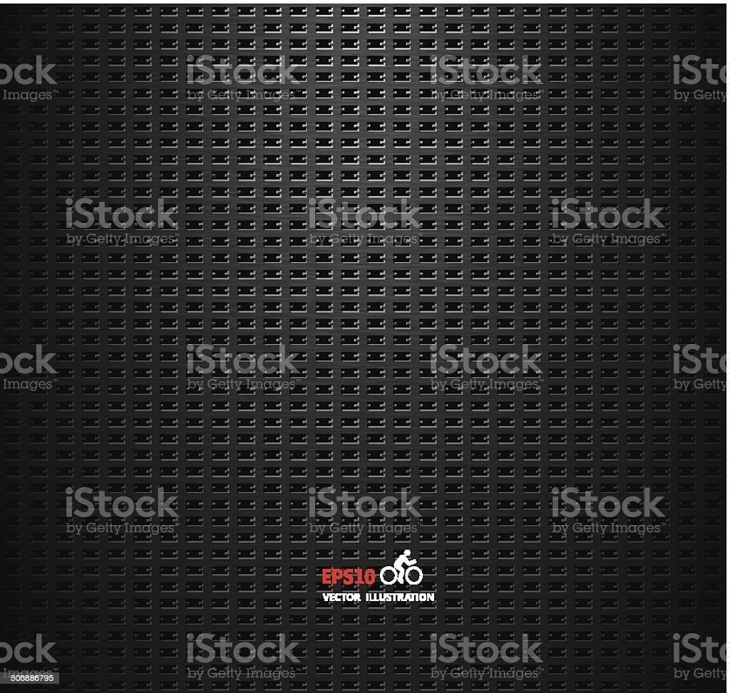 Vector carbon fiber and dark grey background royalty-free vector carbon fiber and dark grey background stock vector art & more images of abstract