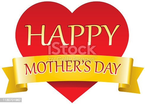 istock Vector card for Mother's day 1130701962