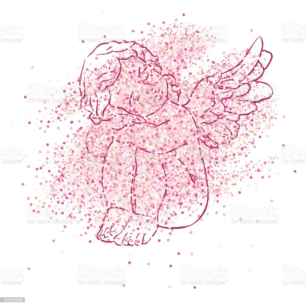 vector card royalty-free vector card stock vector art & more images of angel