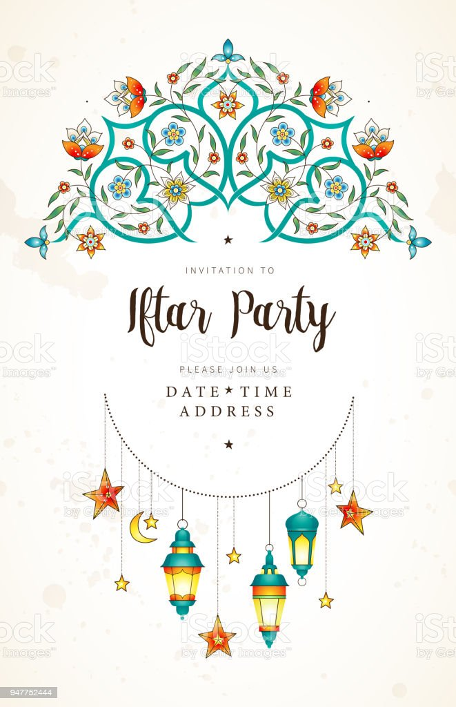 Vector cards for invitation to iftar party celebration arte vector cards for invitation to iftar party celebration vector cards for invitation to iftar party stopboris Choice Image