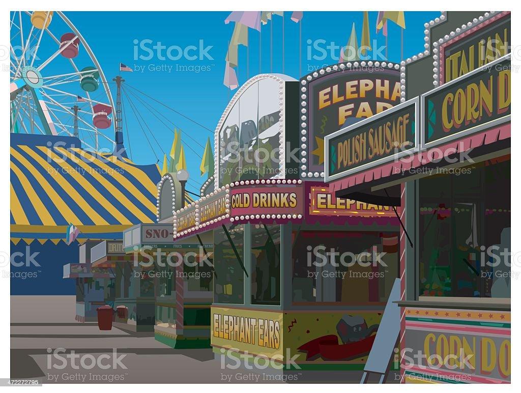 Illustration vectorielle de carnaval - Illustration vectorielle