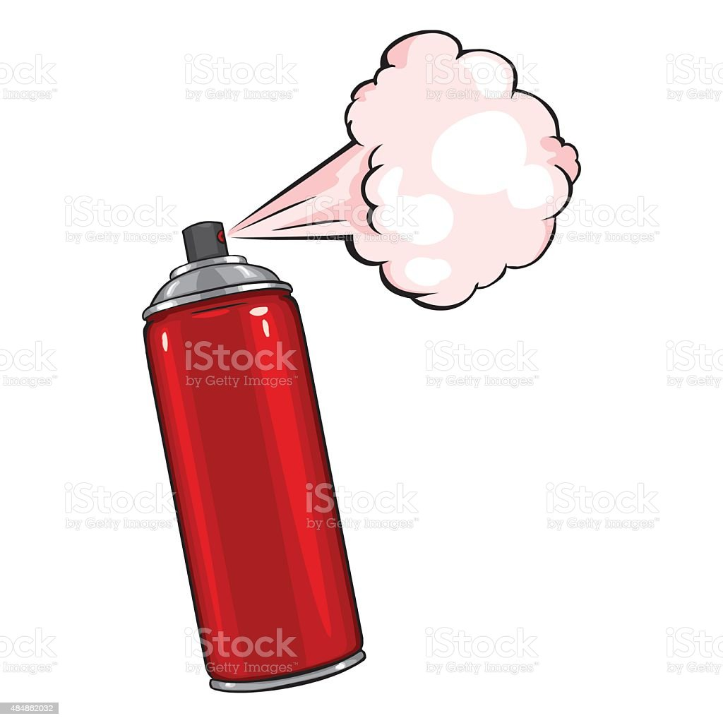 royalty free spray paint cans clip art vector images rh istockphoto com spray paint gun clipart spray paint can clipart